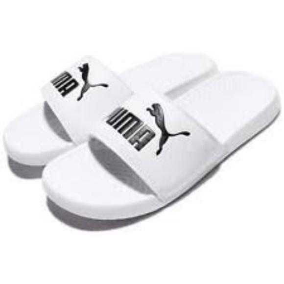 White Puma 12 Popcat Slide Nwt Sandal rdCoWeBx